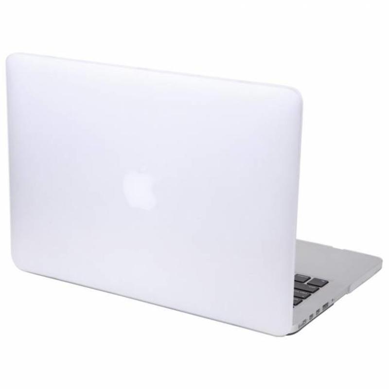 Hardshell Cover SmartShell Mat Clear Doorzichtig voor de MacBook Pro 13 inch Retina