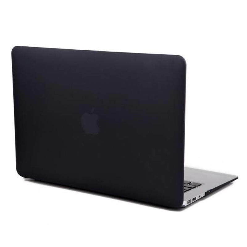 J&S Supply Hardshell Cover SmartShell Mat Zwart voor de MacBook Pro 13 inch