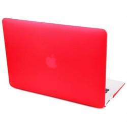 Hardshell Cover SmartShell Mat Rood voor de MacBook Pro 15 inch Retina