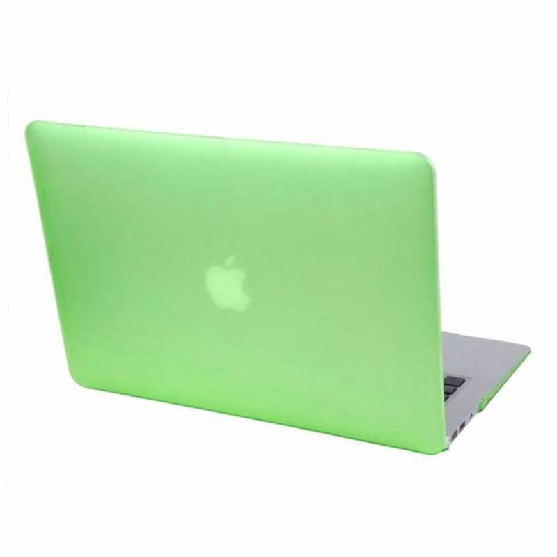 Hardshell Cover SmartShell Mat Groen voor de MacBook Pro 15 inch Retina