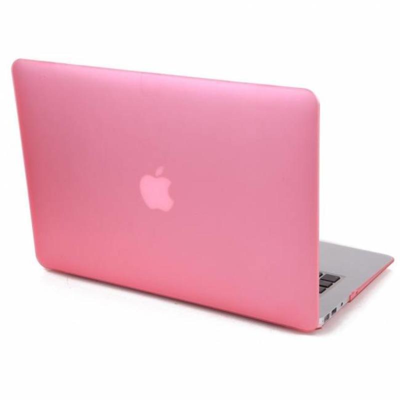 Hardshell Cover SmartShell Mat Roze voor de MacBook Pro 15 inch Retina