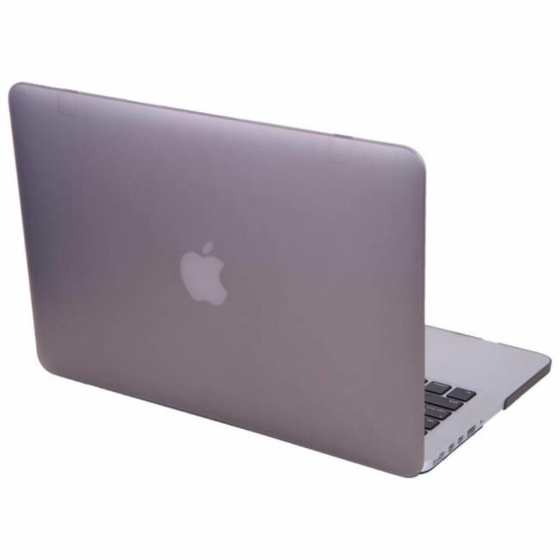 Hardshell Cover SmartShell Mat Grijs voor de MacBook Pro 15 inch Retina