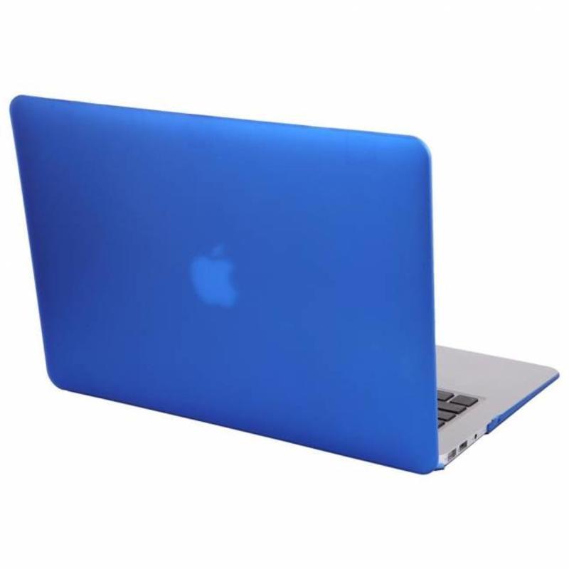 J&S Supply Hardshell Cover SmartShell Mat blauw voor de MacBook Pro 15 inch