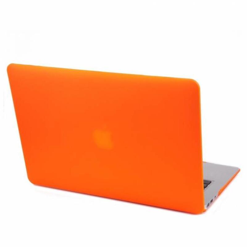 Hardshell Cover SmartShell Mat Oranje voor de MacBook Pro 15 inch