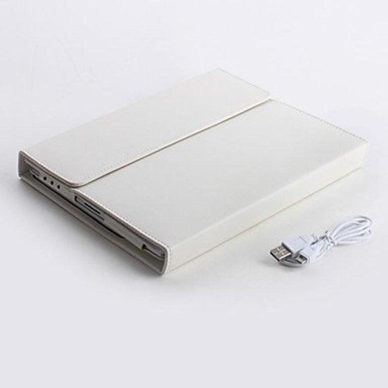 J&S Supply Toetsenbord voor iPad Zwart/Wit