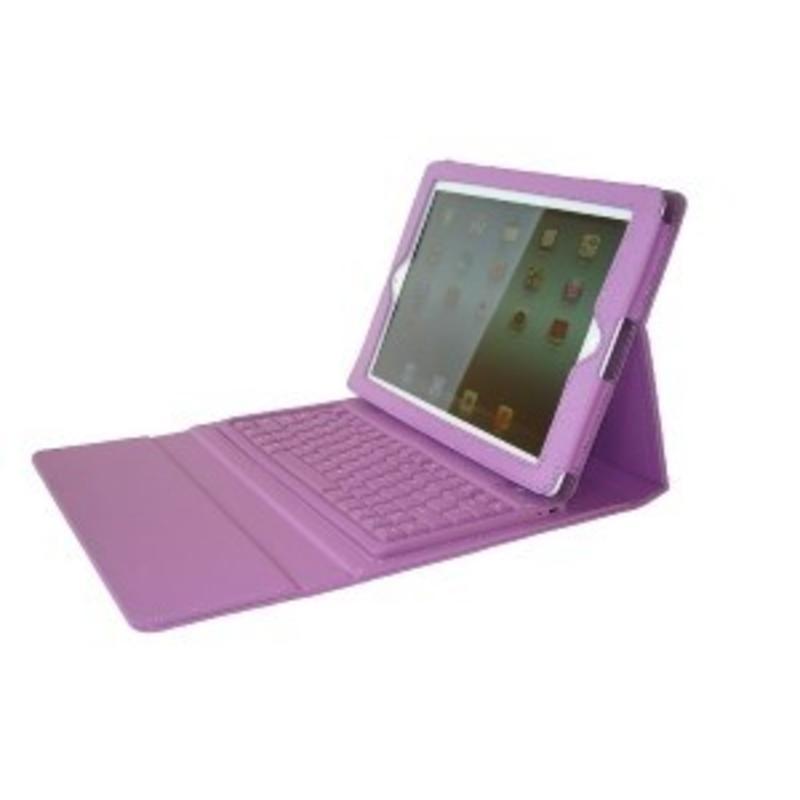 Toetsenbord voor ipad paars