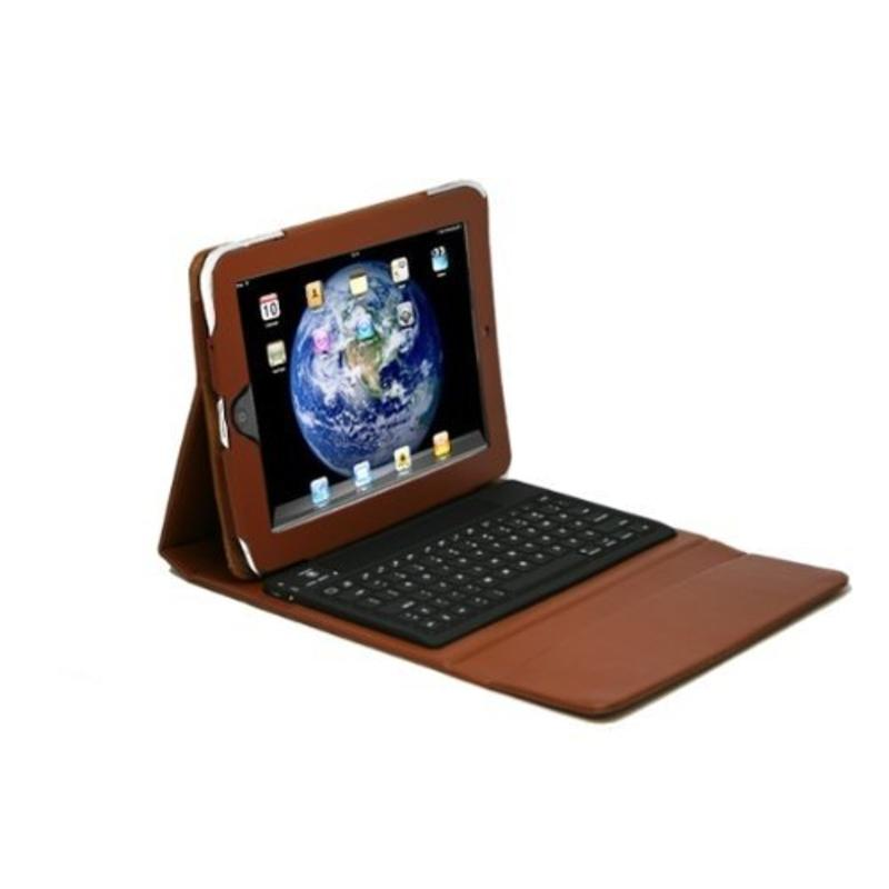 Toetsenbord voor ipad bruin