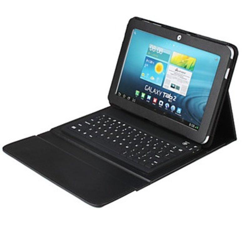 J&S Supply Toetsenbord voor Galaxy Tab 4 10.1 Zwart/Wit