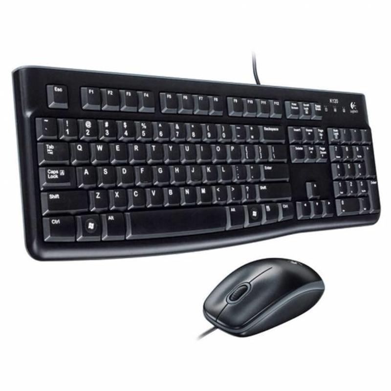 Logitech Logitech MK120 USB toetsenbord met muis