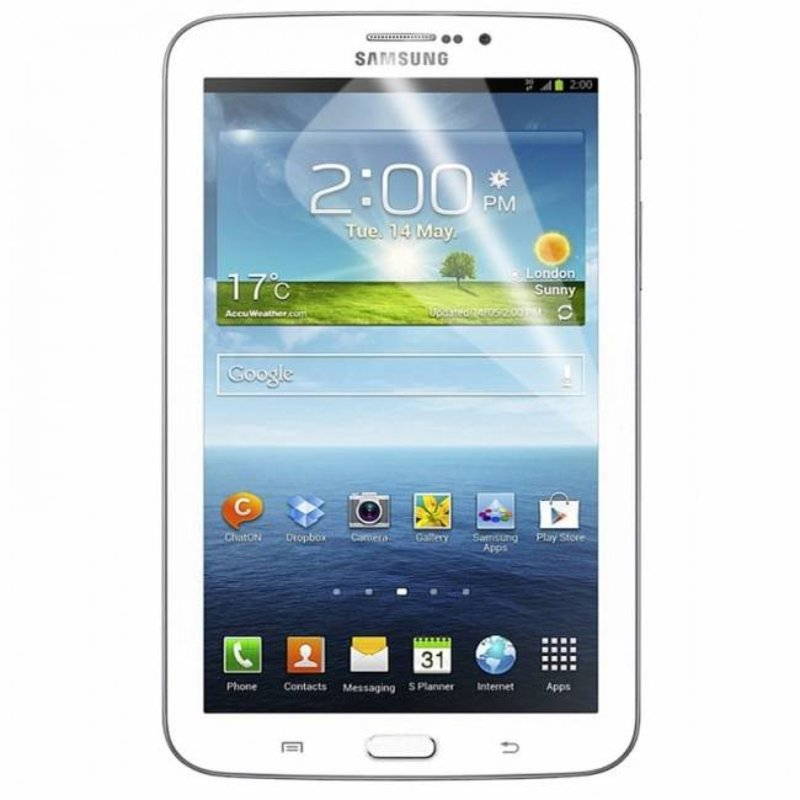J&S Supply Screenprotector voor de Galaxy Tab 3 7 inch T210 (Duo Pack)