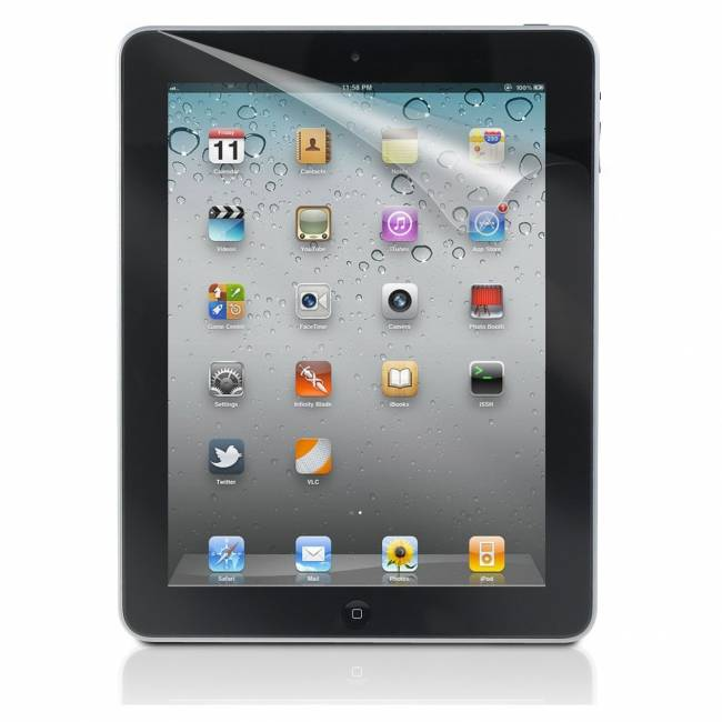 Screenprotector Apple iPad 2 Color