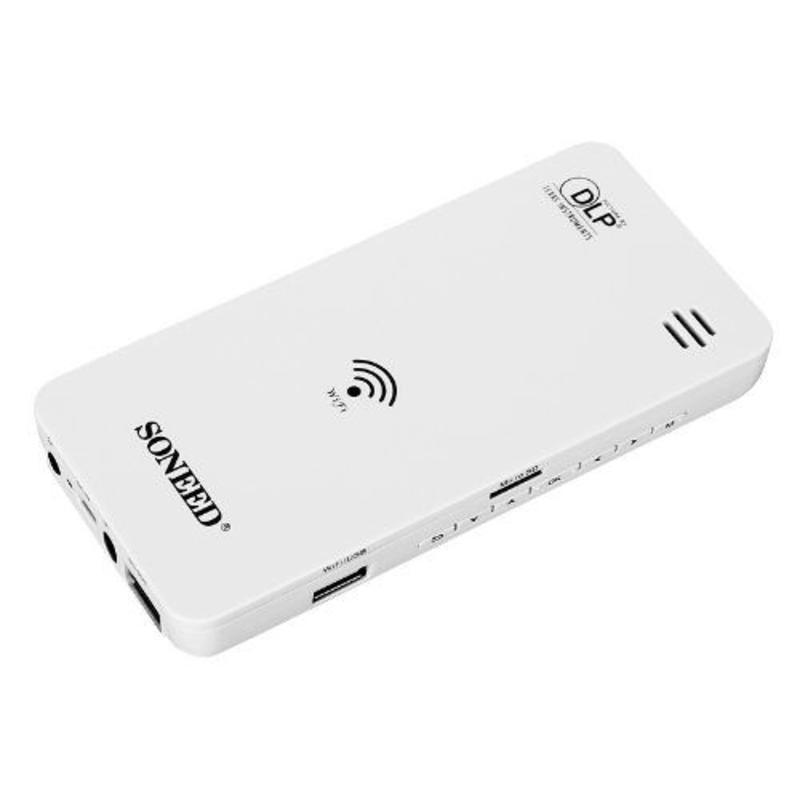J&S Supply Smartphone Mini Projector W500 Wifi Beamer