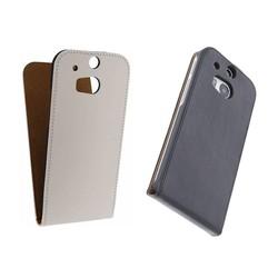 J&S Supply HTC ONE M8 Flip Case Leer