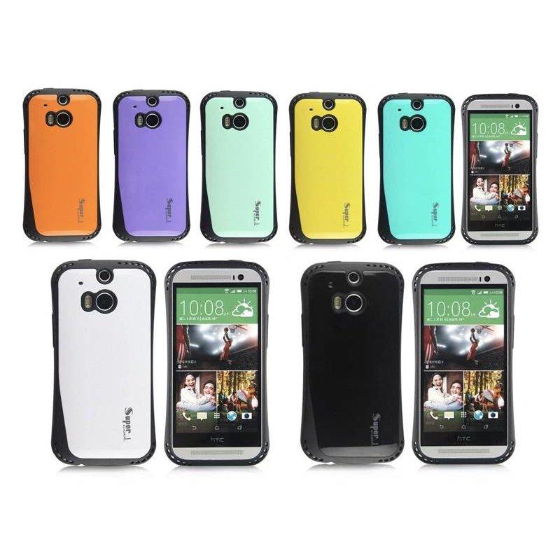 J&S Supply HTC One M8 Lucht Kussen Case