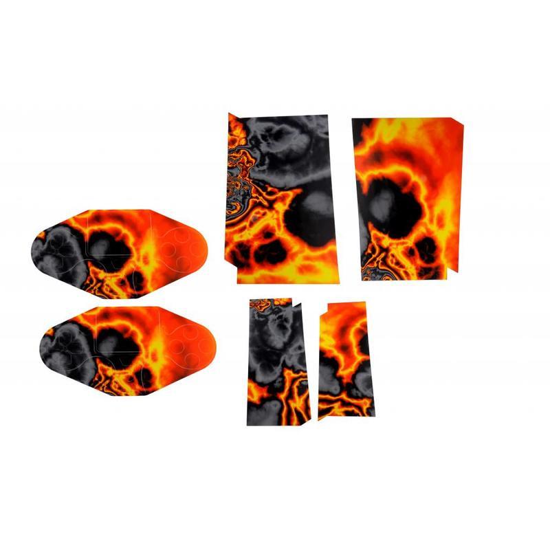 Playstation 4 Sticker Lava