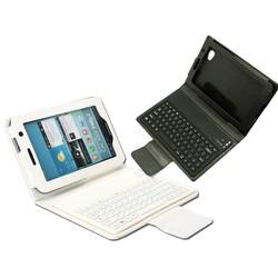 Bluetooth Toetsenbord in Lederen Look Case voor Samsung Galaxy Tab 3 T310 T311 8 Inch Zwart of Wit
