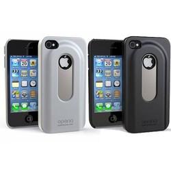 J&S Supply Bier Fles Opener Case iPhone 4 / 4S Wit en Zwart