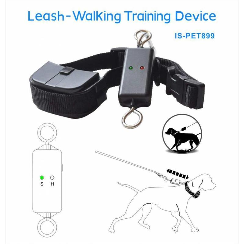 Elektrische Anti Trek Halsband Hond