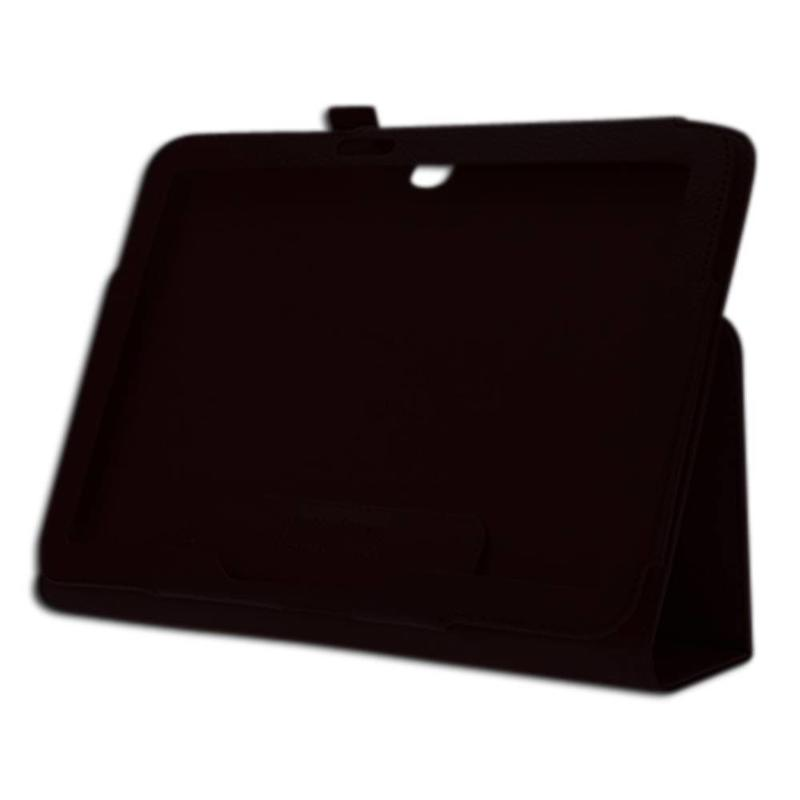 J&S Supply Lederen Look Case voor Samsung Galaxy Tab 3 (10.1 Inch)