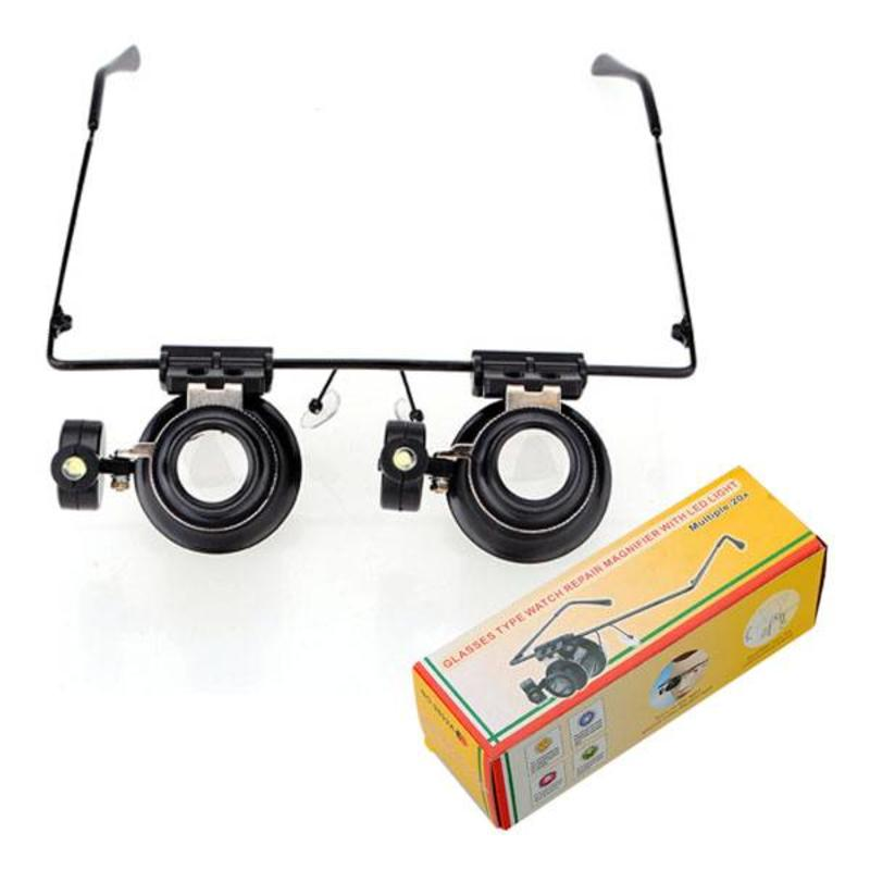 Vergrootglas Bril Met LED Verlichting kopen? I MyXlshop (Tip) - Home