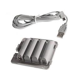 J&S Supply Batterij Oplader voor Nintendo Wii Balance Board