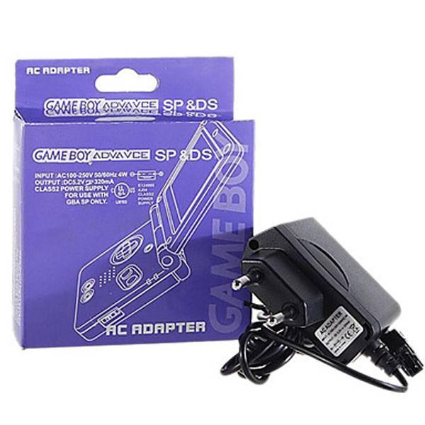 Oplader voor Nintendo Gameboy Advance SP & DS