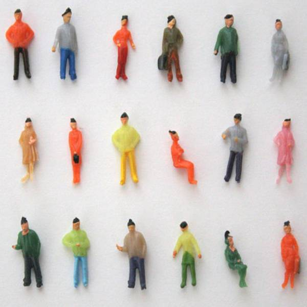 Miniatuur Poppetjes J&S Supply