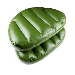 JS Opblaasbaar Zitkussen in de Kleur Groen