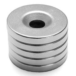 J&S Supply Krachtige Magneten met Gat