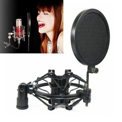 J&S Supply Professionele Microfoon Popfilter