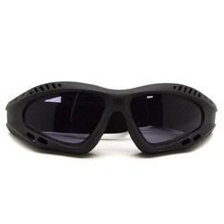 J&S Supply Motorbril met Grijze Glazen
