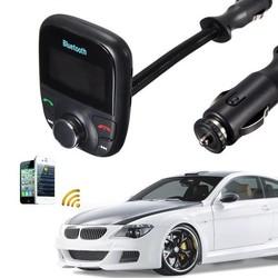 JS Bluetooth Handsfree Carkit, Speelt Muziek via USB, Bluetooth & FM