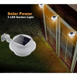 J&S Supply Solar LED Tuinverlichting Schutting Lamp