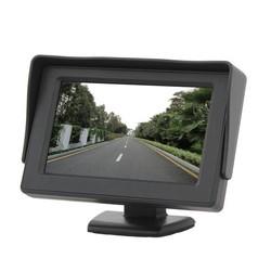 JS 4.3 Inch Monitor Voor Achteruitrij Camera En GPS