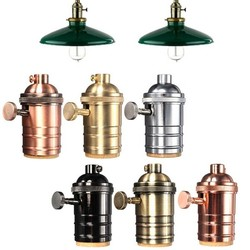 JS E27 Vintage Lamphouder In Verschillende Kleuren