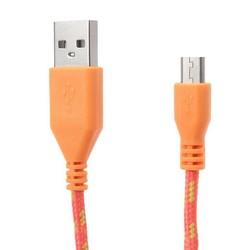 J&S Supply Gevlochten Micro USB kabel 2M