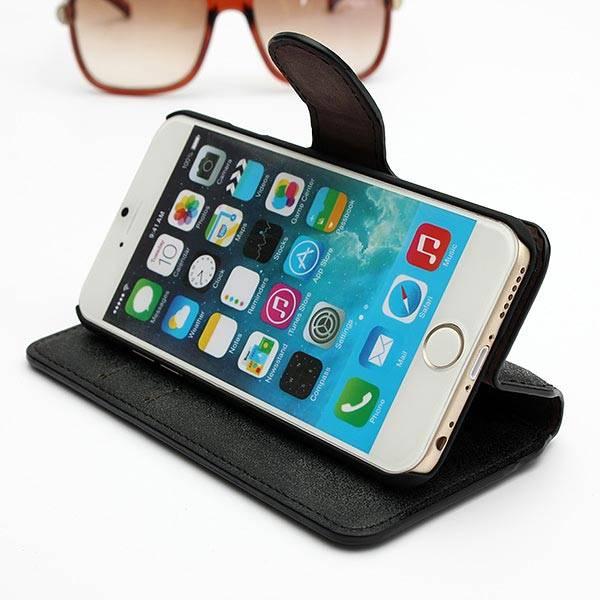 Portemonnee Hoesje voor iPhone 6 van PU leer