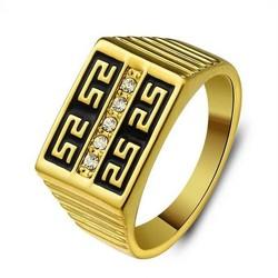 JS Ring Man met Gouden Kleur