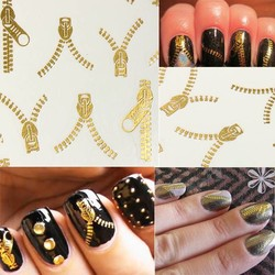J&S Supply Nail Art Stickers van Rits