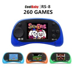 Coolboy Coolboy Game Consoles met 260 Games