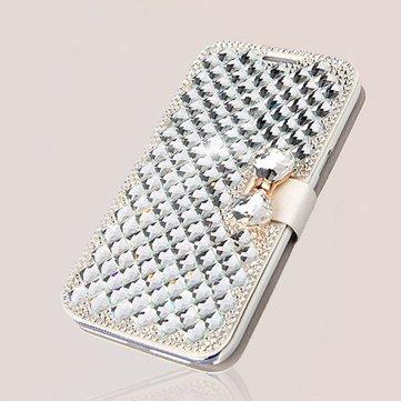 Hoesje voor iPhone 6 Plus met Glittersteentjes