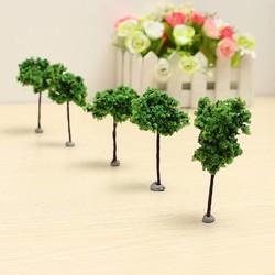 J&S Supply Kleine Bomen voor Decoratie 5 Stuks