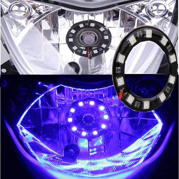 LED Verlichting voor Motor en Scooter Angel Eyes