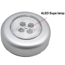 JS Druk Lampje 4LED voor Camping Badkamer Auto
