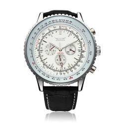 JARAGAR Mannen Horloge Met Grote Wijzerplaat