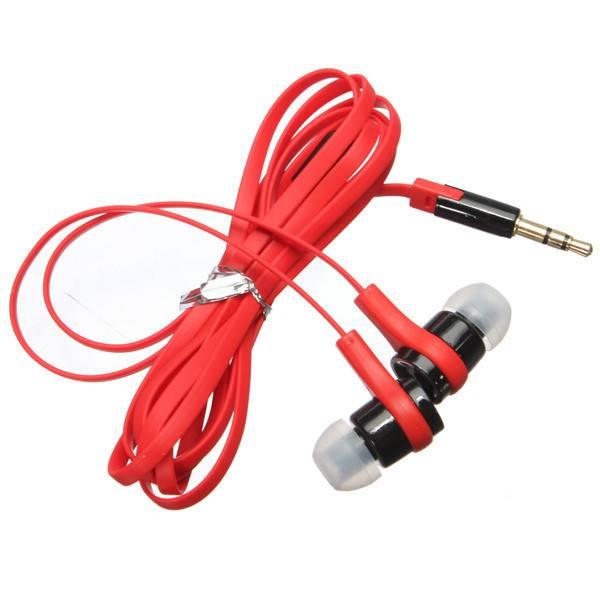 Oordopjes Koptelefoon Met Platte Kabel