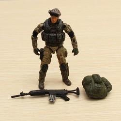 J&S Supply Actiefiguur Soldaat Special Forces