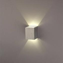 J&S Supply Vierkante Lamp Licht aan Twee Zijden