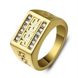JS Bergkristal Ring