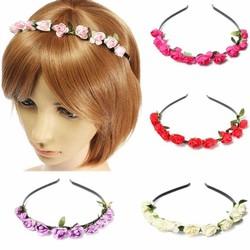 JS Haarband met Gekleurde Bloemen